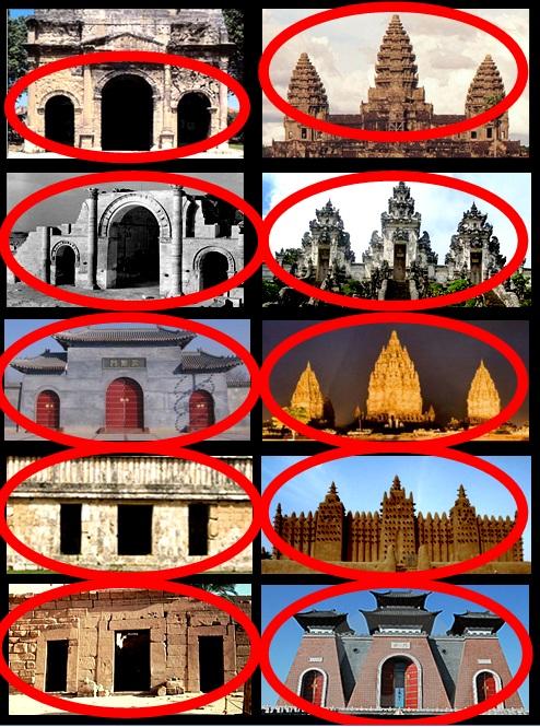 La religión de la serpiente: Los Templos Trípticos de Atlantis Triptych-Temples-Global