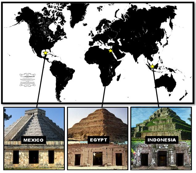 La religión de la serpiente: Los Templos Trípticos de Atlantis Triptych-Temples-of-Atlantis