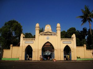 Solo (Surakarta) Mosque Entrance