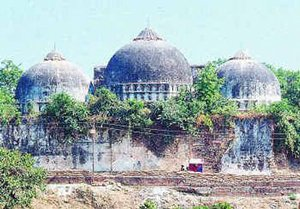 ancient babri mosque