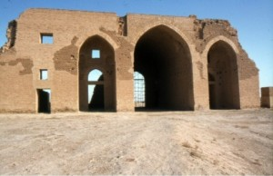 (The Caliphal Palace was built by the caliph al-Mu`tasim in 836, and finally abandoned about 895. It is one of the largest imperial palaces to have survived from ancient times.)