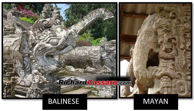 Maya Bali Elephants Old World New World Elephants