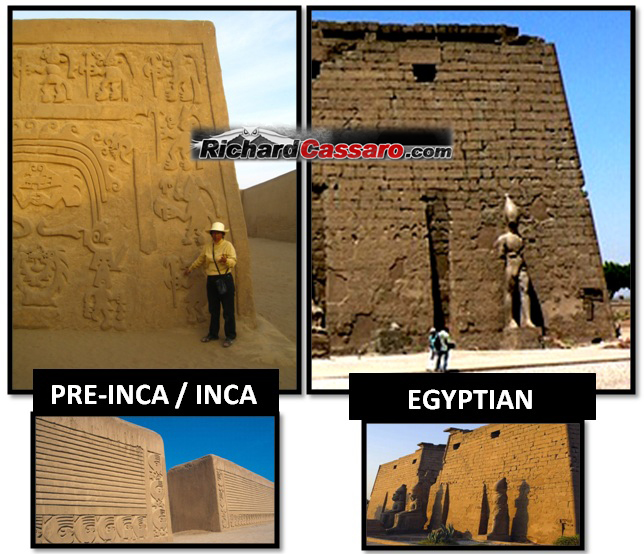 A Building Techniques Used In Egyptian Temples Was