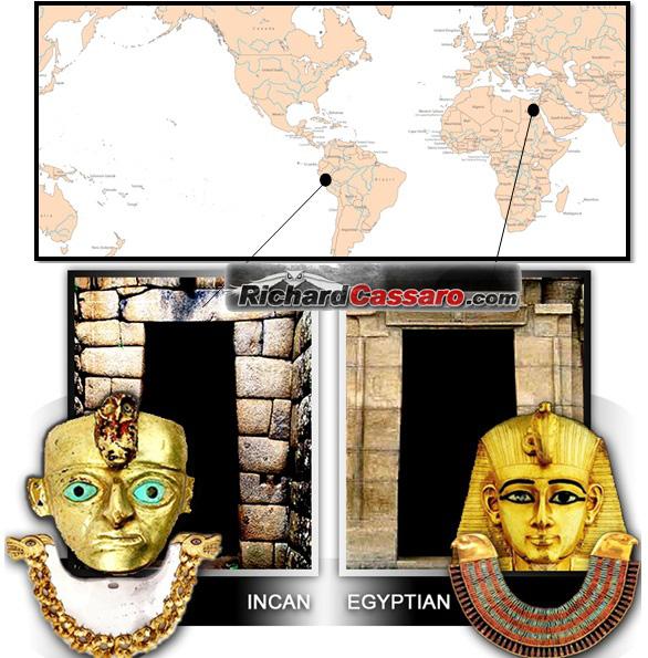 Similitudes troublantes entre les civilisations inca et égyptienne Inca-egypt