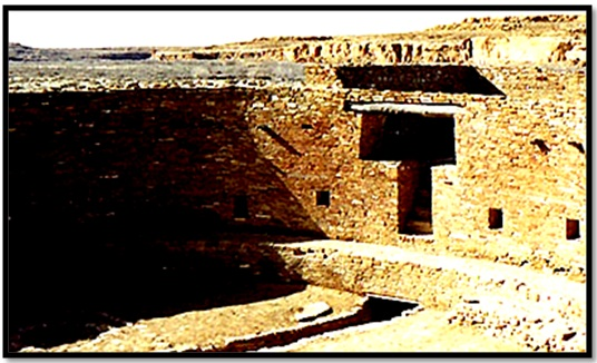 "Unexplained Mystical Structure: Egyptian ""Ankh Cross"" Temple―Built By The Aztecs? Tau-cross-chaco-canyon"