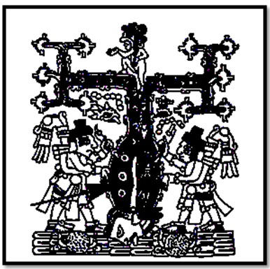 "Unexplained Mystical Structure: Egyptian ""Ankh Cross"" Temple―Built By The Aztecs? Tau-cross-mexico-codex"