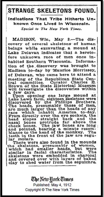 Oculto en Italia: Ruinas ciclópeas prohibidas, (¿de gigantes de la Atlántida?) Giants-Bones-New-York-Times-21