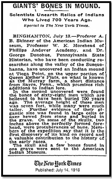 Oculto en Italia: Ruinas ciclópeas prohibidas, (¿de gigantes de la Atlántida?) Giants-Bones-New-York-Times