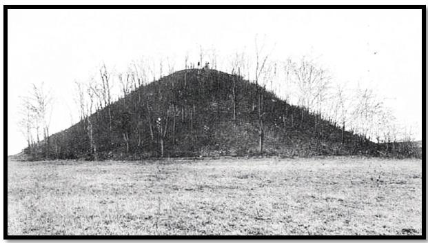 Oculto en Italia: Ruinas ciclópeas prohibidas, (¿de gigantes de la Atlántida?) Pyramidal-mound-ohio