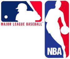 mlb-and-nba-logos