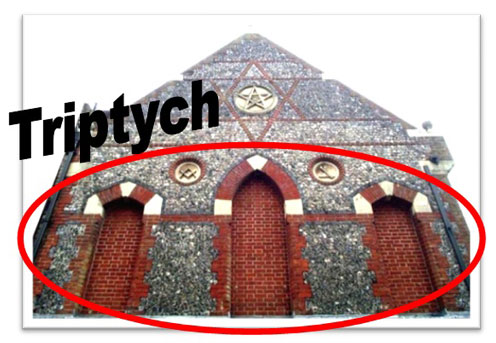 Triptych Temples & the GodSelf Icon in Ancient Cultures Pythian-3