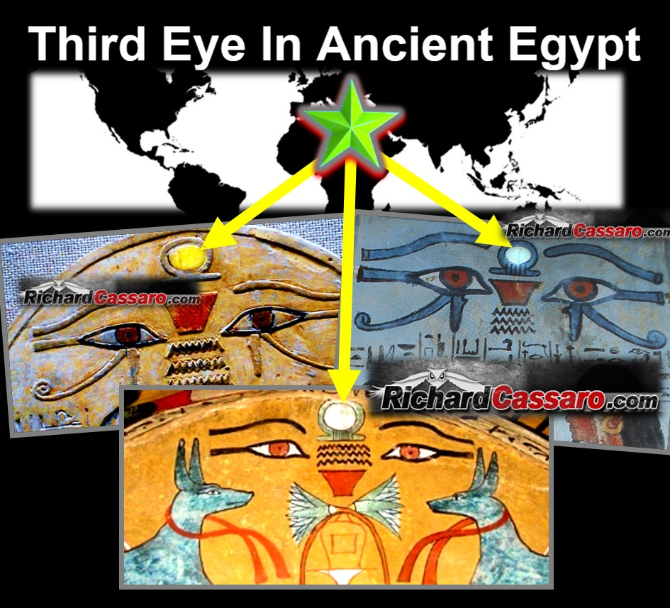 third eye in ancient egypt richard cassaro