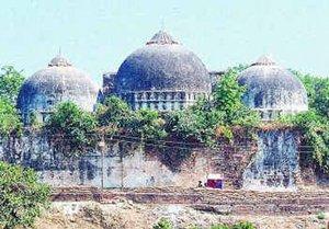 ancient babri mosque