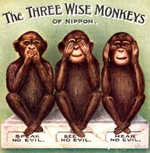 The Secret Occult Meaning Of The Three Wise Monkeys Hidden By The