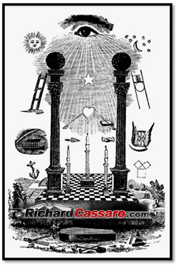 Masonic Sun And Moon Archives Richard Cassaro