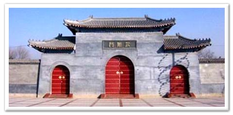 mysterious triptych temples found in ancient modern china