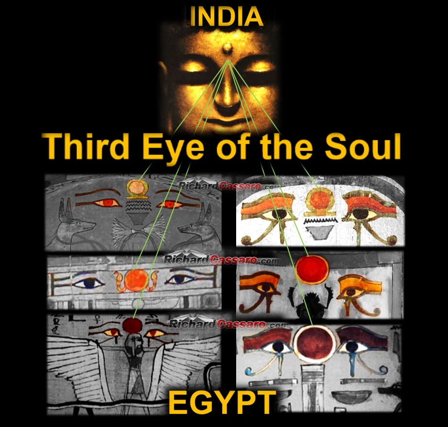 the ancient egyptian third eye richard cassaro