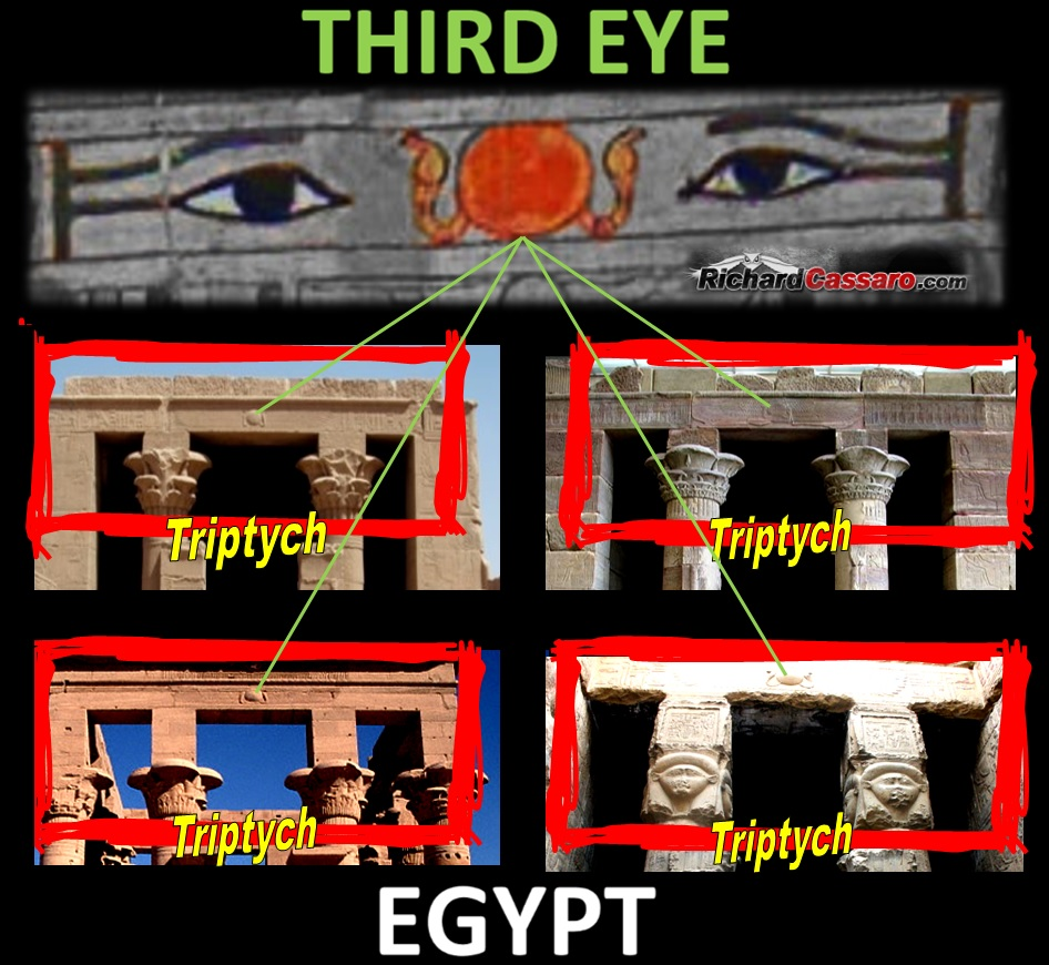 third eye triptych egypt